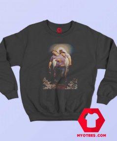 Christian The Forgiven Painting Unisex Sweatshirt