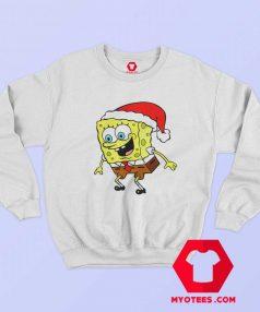 Christmas Day Spongebob TV Cartoon Sweatshirt