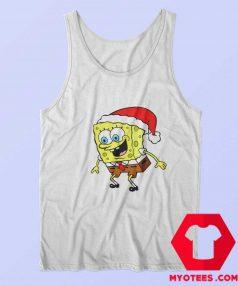 Christmas Day Spongebob TV Cartoon Tank Top
