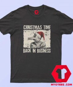 Christmas Time Back In Business Plague Doctor T Shirt