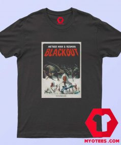 Classic Mothod And Redman Blackout T Shirt