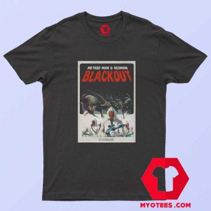 Classic Mothod And Redman Blackout T Shirt
