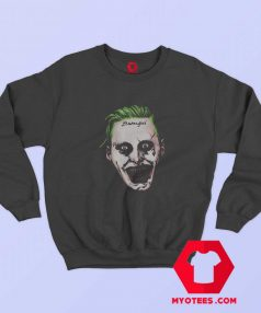 Cool Suicide Squad Joker Face Unisex Sweatshirt