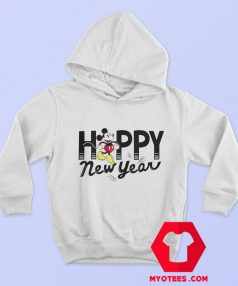 Disney Mickey Mouse Happy New Year Hoodie