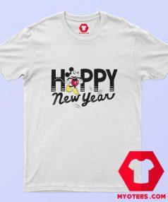 Disney Mickey Mouse Happy New Year T Shirt