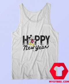 Disney Mickey Mouse Happy New Year Tank Top