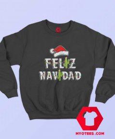 Feliz Navidad Vintage Christmas Cactus Sweatshirt