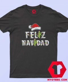 Feliz Navidad Vintage Christmas Cactus T Shirt