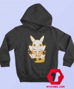 Funny Pokemon Pikachu Skeleton Hoodie