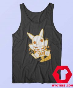 Funny Pokemon Pikachu Skeleton Tank Top
