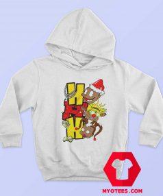 HoHoHo Cartoon Rugrats Christmas Hoodie