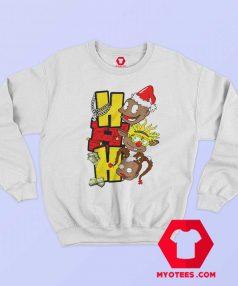 HoHoHo Cartoon Rugrats Christmas Sweatshirt