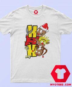 HoHoHo Cartoon Rugrats Christmas T Shirt