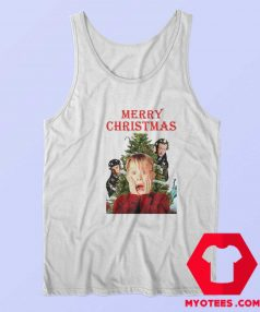 Home Alone Funny Christmas Unisex Tank Top