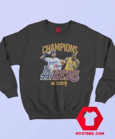 Los Angeles Dodgers Lakers Champions Sweatshirt