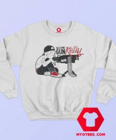Machine Gun Kelly Boy White Unisex Sweatshirt