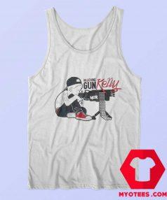 Machine Gun Kelly Boy White Unisex Tank Top