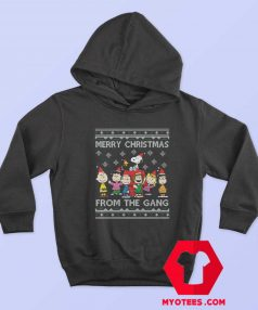 Merry Christmas The Peanuts Gang Hoodie