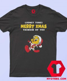 Merry Christmas With Funny Looney Tunes T Shirt