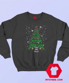 Merry Xmas For all Metallica Christmas Sweatshirt