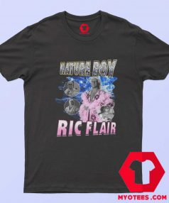 Nature Boy Ric Flair Bootleg Rap Style T Shirt