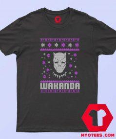 New Black Panther Wakanda Christmas T Shirt