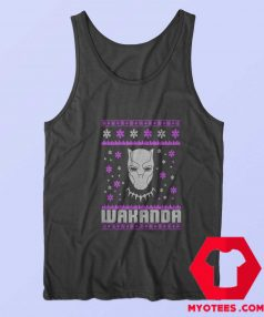 New Black Panther Wakanda Christmas Tank Top