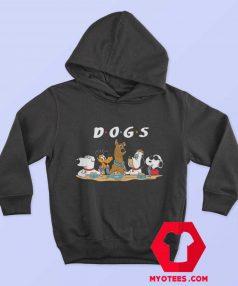 Parody Scooby doo Snoopy Pluto Friends Hoodie