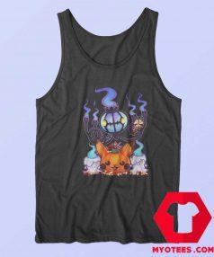 Pokemon Chandelure Litwick Pikachu Tank Top