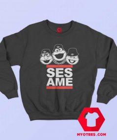 Sesame Street Characters DMC Parody Sweatshirt