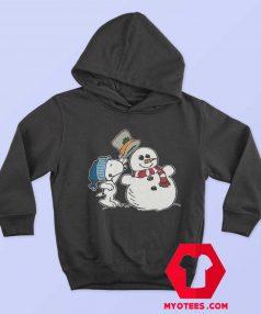Snoopy Peanuts Snowman Christmas Hoodie