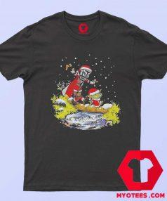 Star Wars Jango Fett And Yoda Christmas T Shirt