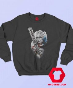 Suicide Squad Harley Quinn Broken Glass Sweatshirt