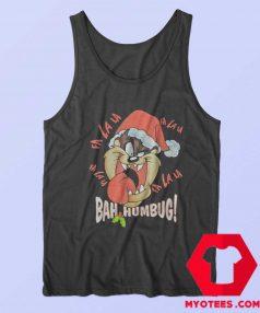 Tasmanian Bah Humbug Tongue Christmas Tank Top