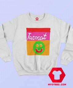 Tatocat Band Smile Striped Unisex Sweatshirt