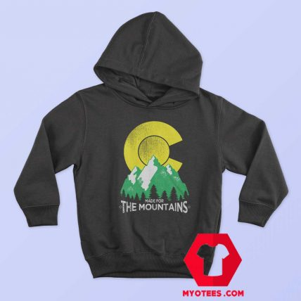 The Mountains Colorado State Flag Hoodie