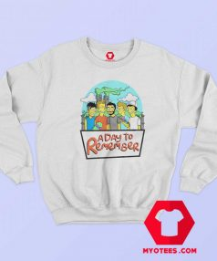 This A Day To Remember Simpsons Sweatshirt