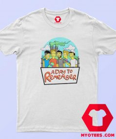 This A Day To Remember Simpsons T Shirt