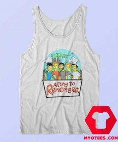 This A Day To Remember Simpsons Tank Top