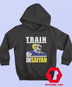 Train In Saiyan Dragon Ball Anime Unisex Hoodie