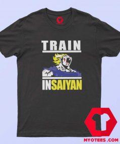 Train In Saiyan Dragon Ball Anime Unisex T Shirt