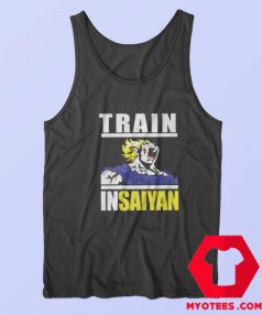 Train In Saiyan Dragon Ball Anime Unisex Tank Top
