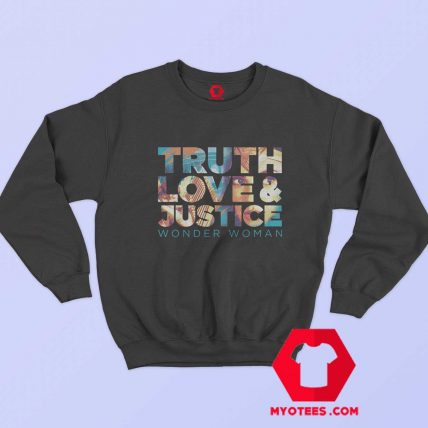 Truth Love Justice WW 1984 Unisex Sweatshirt