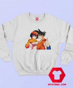 Velma Scooby Doo DBZ Son Goku Sweatshirt