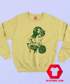 Vintage Cheerleader Go Packers Unisex Sweatshirt