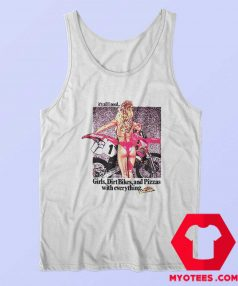 Vintage Honda CR500 Girls Dirt Bikes Tank Top