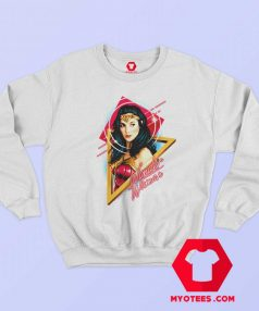 Wonder Woman Portrait Gal Gadot Sweatshirt