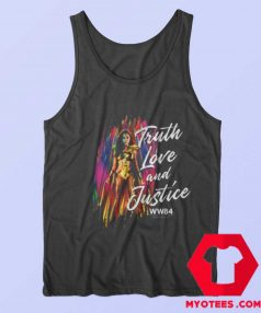 Wonder Woman Truth Love and Justice Tank Top