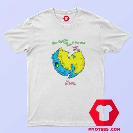 Wu Tang Dr Seuss Parody Hip Hop Music T Shirt