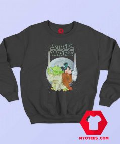 Yoda and Mickey Mouse SW Christmas Sweatshirt